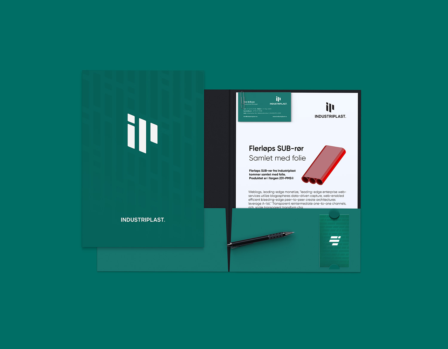 Industriplast folder