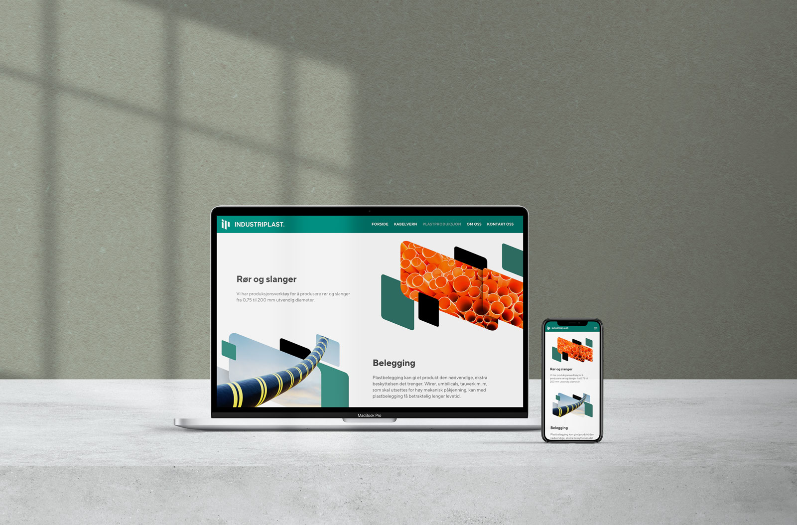 Industriplast webside